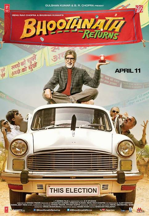 Bhoothnath Returns 2012 poster